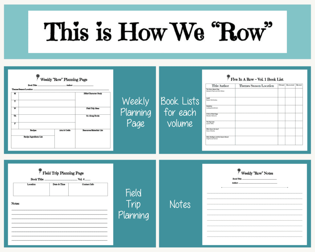 this is how we row planner pages.