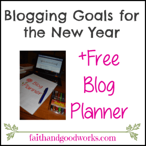 Blogging Goals for the New Year