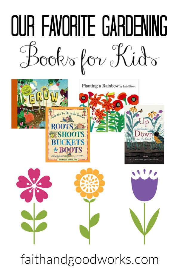 gardening for kids books