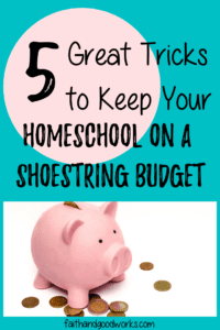 homeschool on a shoestring budget