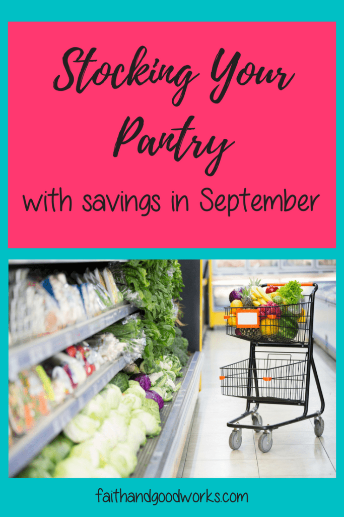 stocking your pantry
