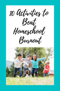homeschool burnout